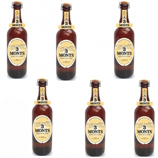 3 Monts Bière de Flandre helles obergähriges Starkbier 6 x 0, 75 Ltr. 8, 5 % mit