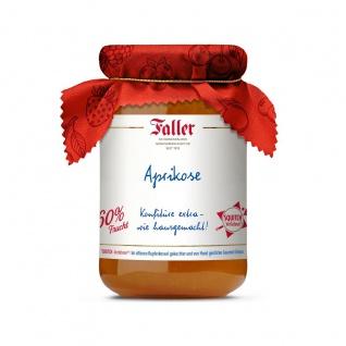 Marmelade aus dem Schwarzwald Faller Aprikosen-Konfitüre wie hausgemacht! mit 60% Frucht 330 Gramm