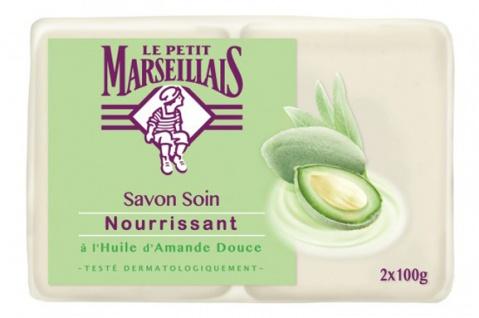 Le Petit Marseillais Seife mit süßem Mandelöl 2x100 Gramm aus Frankreich