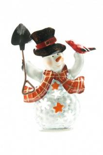 Teelicht Schneemann im 4er Set verschiedene Motive - Vorschau 4