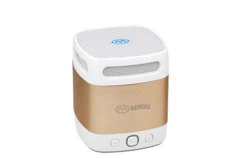MiiKey Bluetooth-Lautsprecher MiiBox Mini Gold