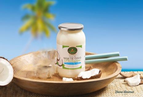 Lapalisse Biologisches Natives Kokosnussöl 1 Liter Bio - Vorschau 2