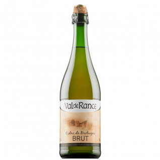 Val de Rance Cidre de Bretagne Brut Apfelwein aus Frankreich 0, 75 Liter