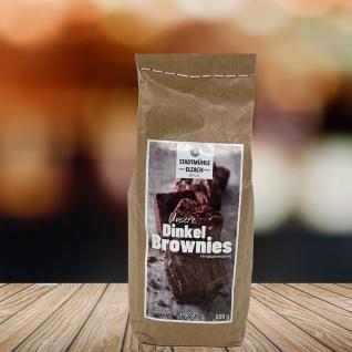 Stadtmühle Elzach Fertig-Backmischung Schwarzwälder Dinkel-Brownies 500 Gramm - Vorschau 4