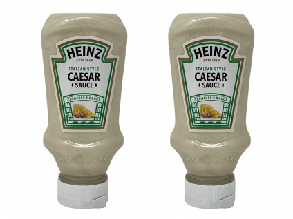 Heinz Salat Sauce Caesar Salatdressing 2 x 220 ml