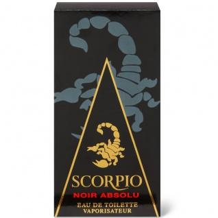 Scorpio Noir Absolu - Eau de Toilette für Herren - Vaporisateur/Spray - 75 ml