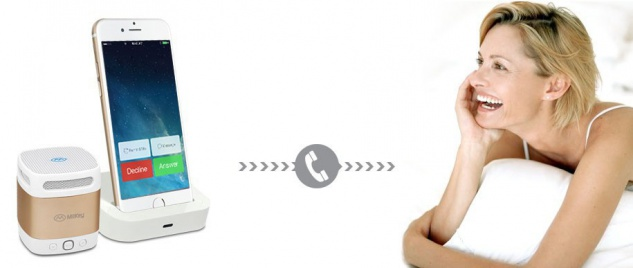 MiiKey Bluetooth-Lautsprecher MiiBox Mini Gold - Vorschau 3