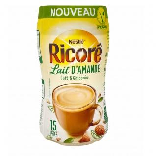 Nestlé Ricoré Lait d'amande Instant Kaffee mit Mandelmilch und Extrakten aus Zichorie 190 g (vegan)