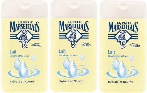 Le Petit Marseillais Duschgel mit Milch 3x250 ml aus Frankreich