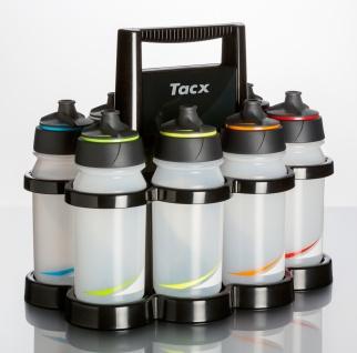 Tacx Starlight & Shanti Twist transparent 8 x 500 ml - Membranverschluß