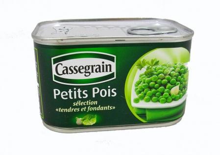 Cassegrain Erbsen Petits Pois 706 Gramm