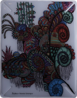 "BODINO Designer Skin / Schutzfolie für iPad by Pamela Gotangco Hupp "" COREAL SEA"""