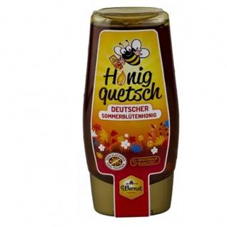 Honig Wernet Traditionsimker im Schwarzwald Honigquetsch - deutscher Sommerblütenhonig 350 Gramm