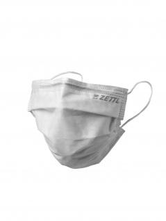 ZETTL OP-Maske PLUS TYP I, Medizinische Gesichtsmaske DIN EN 14683 Made in Germany