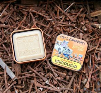 La Savonnerie De Nyons Seife in der Metalldose Handwerker Seife 100 Gramm - Vorschau 2