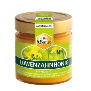 Honig Wernet Traditionsimker im Schwarzwald cremiger Löwenzahnhonig im 250g Glas