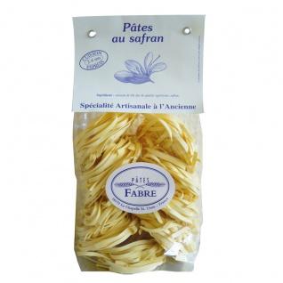 Pâtes Fabre Gourmet Tagliatelle mit edlem Safran 250g aus Frankreich