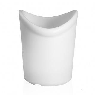 Luminatos 16 LED Eiskühler mit Farbwechsel Fernbedienung Akku Betrieb Eiseimer - Vorschau 3