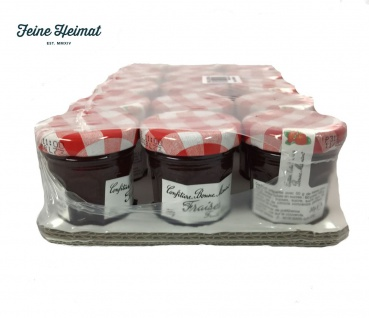 Bonne Maman Erdbeere Konfitüre - Fraises Confiture 15 x 30 Gramm aus Frankreich