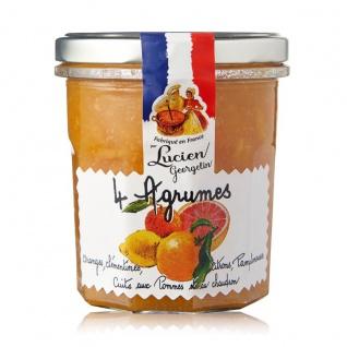 Lucien Georgelin quatre agrumes Vier Zitrusfrüchte 320 Gramm