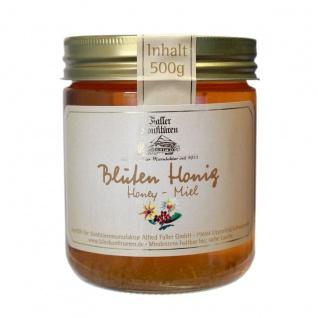 Honig von der Schwarzwälder Manufaktur Faller, Blüten Honig 500 Gramm