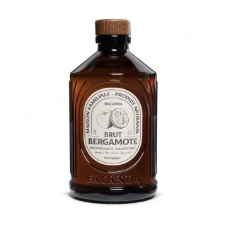 Bacanha Sirop Brut de Bergamote Bio 400 ml - Bio Bergamotte Sirup aus Frankreich mit Bio Rohrzucker