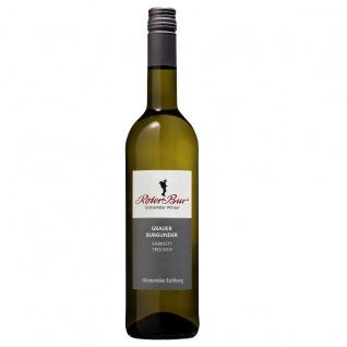 Roter Bur Glottertäler Winzer Einzellage Eichberg Grauer Burgunder Weißwein 0, 75 Liter Der Alleskönner