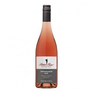Roter Bur Glottertäler Winzer Einzellage Eichberg Spätburgunder Rosé Wein 0, 75 Liter Der Sommerfrische
