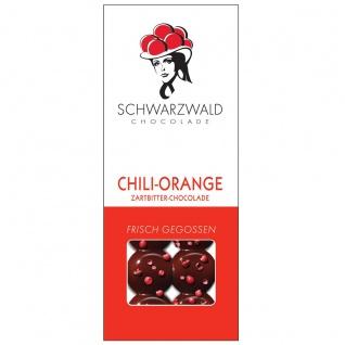FeineHeimat Schwarzwald Chocolade Schwarzwälder Chili-Orange 60 Gramm Original aus dem Schwarzwald
