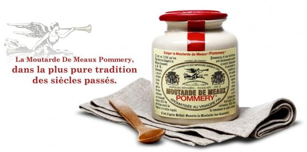 Meaux-Senf Pommery ® Mutarde de MEAUX französischer Senf 500 Gramm - Vorschau 2
