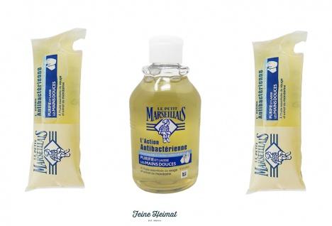 Le Petit Marseillais Flüssigseife antibakteriell 300 ml + 2 x 250ml Nachfüllpack Flüssigseife