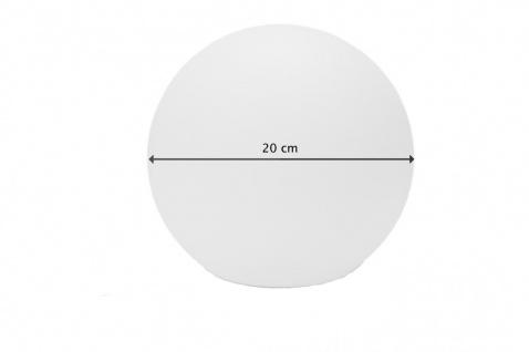 Luminatos 20; LED Leucht Kugel 20 cm 16 Farben mit Fernbedienung wasserdicht
