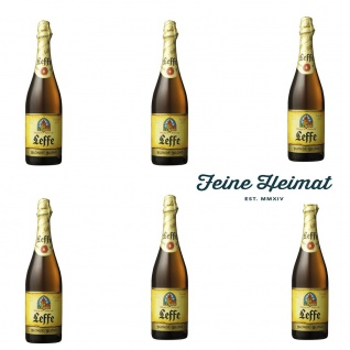 Leffe Blond belgisches Bier 6 x 0, 75 Ltr. 6, 6 % Alkohol