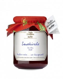 Marmelade aus dem Schwarzwald Faller Sauerkirsch-Konfitüre extra 450 Gramm