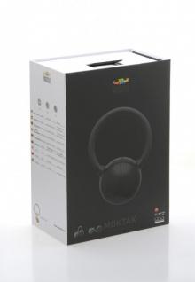 MOKTAK Stereo Design Lautsprecher schwarz Bluetooth NFC