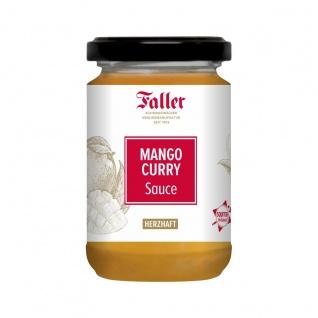 Sauce aus dem Schwarzwald Faller Mango Curry Sauce 260 ml