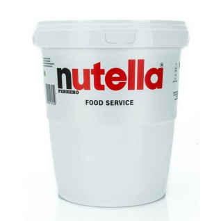 Ferrero nutella im BIG Family 4 Eimer je 3 KG = 12 KG MHD 01/2021