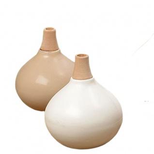 """2er-Set Vasen """" Hany"""" groß 12 x 11 cm"""