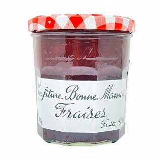 Bonne Maman Erdbeere Konfitüre - Fraises Confiture 370 Gramm aus Frankreich