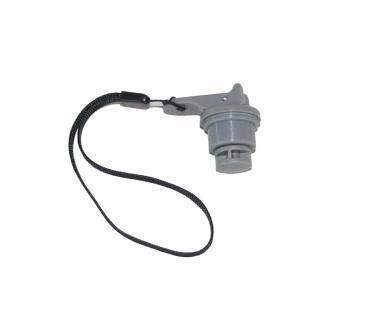 Aqua2go GD-527 PRO Verschluss-Stopfen mit Kordel für Akku-Druckreiniger 12 Volt GD527