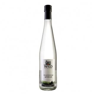 Wild feinste Brände & Liköre Schwarzwald Apfelbrand Gravensteiner 40% 0, 7 Liter