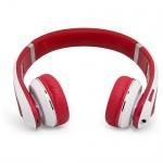 MiiKey Rhythm Pro rot / weiß Bluetooth 4.0 Kopfhörer