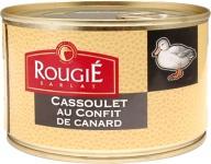 Rougié Entencassoulet, mit weißen Bohnen & zartem Entenconfit-Fleisch 420 g