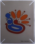 """BODINO Designer Skin / Schutzfolie für iPad by Tamara Norris """" THINK ABOUT IT"""""""
