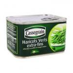Cassegrain Grüne Bohnen extra fein Haricots Verts extra-fins 400 Gramm