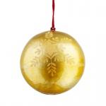 680038 Weihnachtskugel 'Gold'