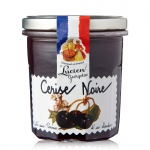 Marmelade aus Frankreich Cerise Noire Schwarzkirsche 320 Gramm