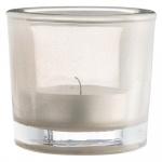 MADAM STOLTZ - 5P366 Teelicht 'Nordstern' Glas