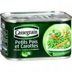 Cassegrain Erbsen und Karotten Petits Pois et Carottes 400 Gramm