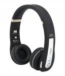 MiiKey Rhythm Pro Schwarz/Grau Bluetooth 4.0 Kopfhörer